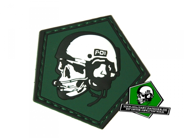 Patch MP Skull (PVC-Rubber-Patch)