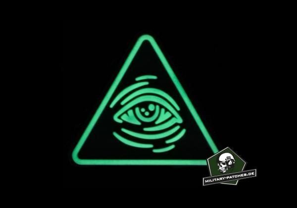 Patch L M S Gear Ranger Eye All seeing Eye GITD (PVC-Rubber-Patch)