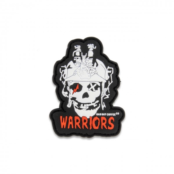 "PVC-Rubber-Patch ""WARRIORS"""