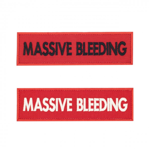 Markierung Medicpack 140 x 40mm - MASSIVE BLEEDING