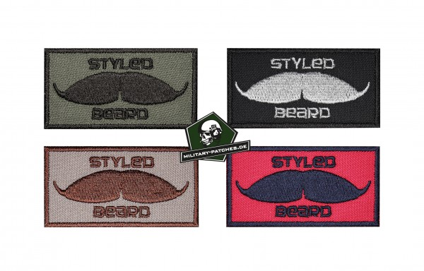 Patch Styled Beard (Moustache)