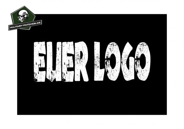 Fahne Individual mit eurem Logo 120 x 80xm