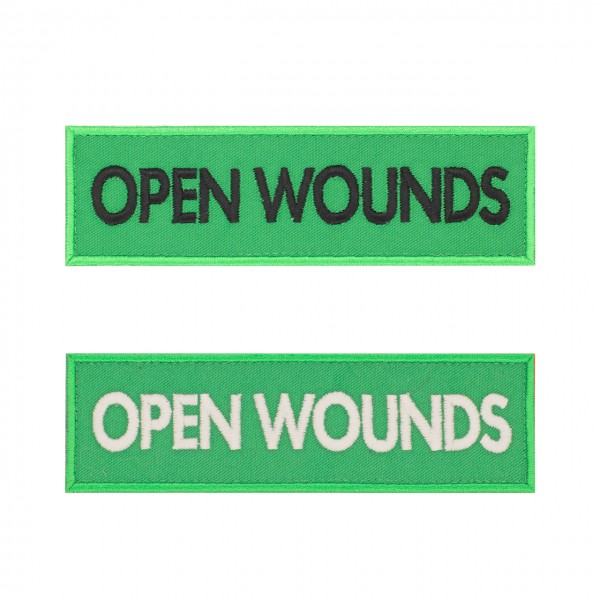 Markierung Medicpack 140 x 40mm - OPEN WOUNDS